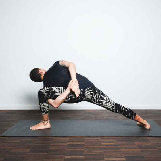 Awesomeness in Vinyasa sequence