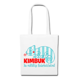 KIMBUK-Jutebeutel blau & rot