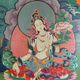 DVD & Thangka-Malerei (Druck) & 3 Fotos aus Tibet