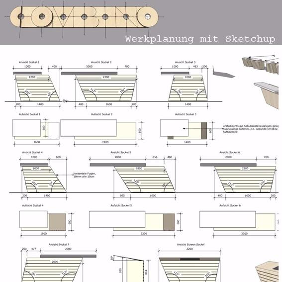 Werk-und Ausführungsplanung in Sketchup & Layout