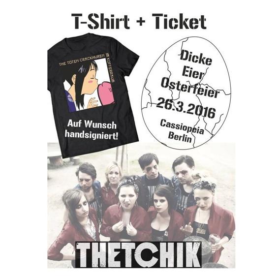 TTCHIK Bundle (T-Shirt + Konzertticket)