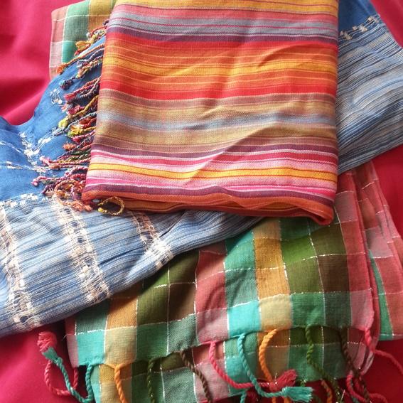 Indischer Schal