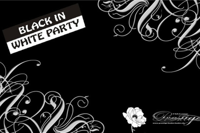 Black in White Party