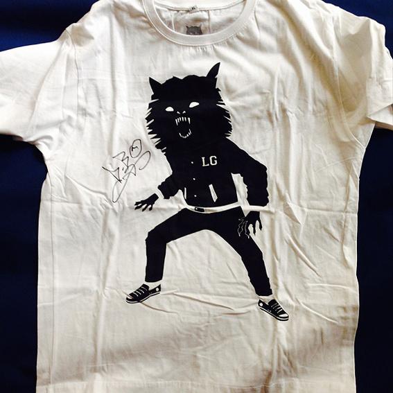 Official Wolfpack Shirt mit Autogramm von D-Bo