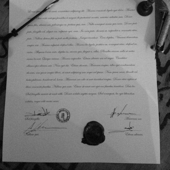 Das signierte Buchpaket mit Urkunde