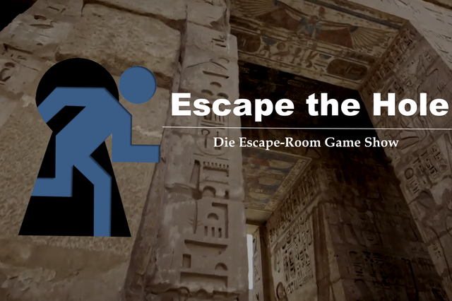 Escape The Hole - Game-Show