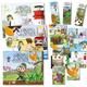 Alle 3 Abenteuer, Band 1 + 2 + 3, 9x Postkarten