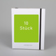 10 Stück Swiss Brochure   –  white carton