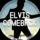 """Button Anstecker """"ELVIS Comeback"""" 44mm"""