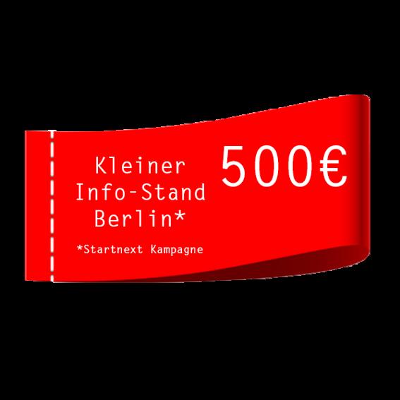 Info-Stand b2g Berlin