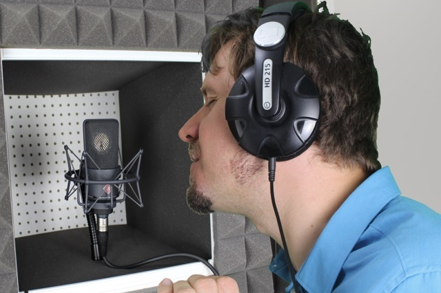 Schallschutzhaube für Musiker