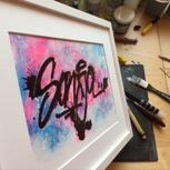 Dein Name als Graffiti-Tag von SHAE