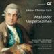 Doppel-CD Johann Christian Bach: Mailänder Vesperpsalmen