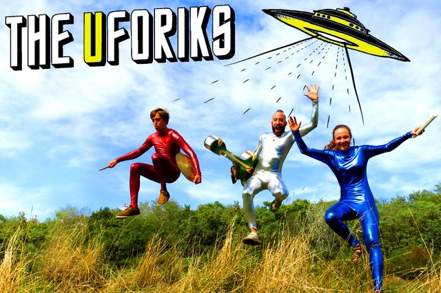 The Uforiks - Albumproduktion
