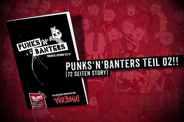 Punks'n'Banters - Comic Teil 02 und Höschen...