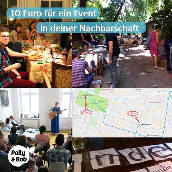 1/10 Beitrag für mehr Nachbarschaftskarma und für ein Event in deiner Nachbarschaft