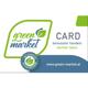 green market Pionier Kundenkarte mit €100 Gutschrift
