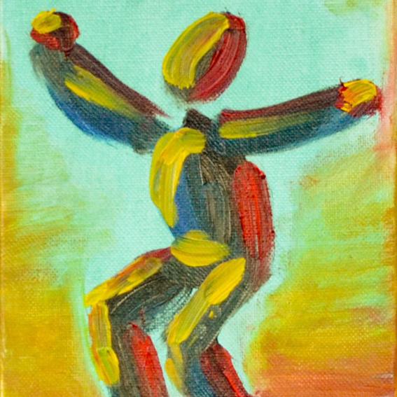 """Happy Dancer Bild Nr. 8 der """"Fluchtwellen"""""""