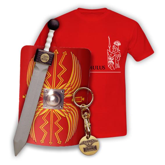 XXL Römerpaket mit Römerschild Legionär