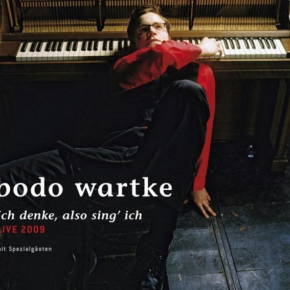 Bodo Wartke - Ich denke, also sing' ich - live 2009 (handsigniert)