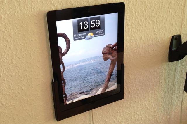 mp.DOCK - Die Wandhalterung für dein Tablet