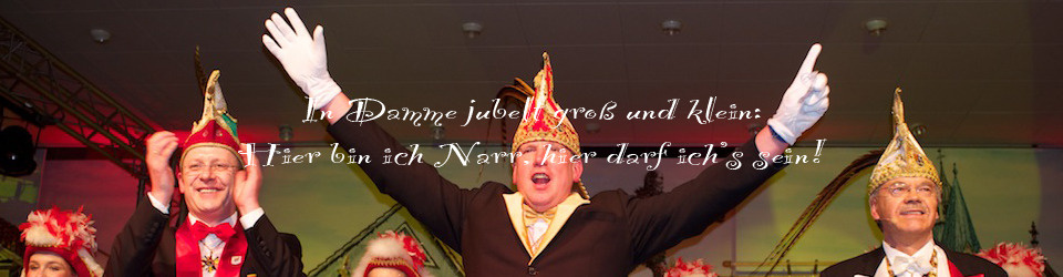 Fotobuchprojekt anlässlich des Dammer Carnevaljubiläums: 398. Session