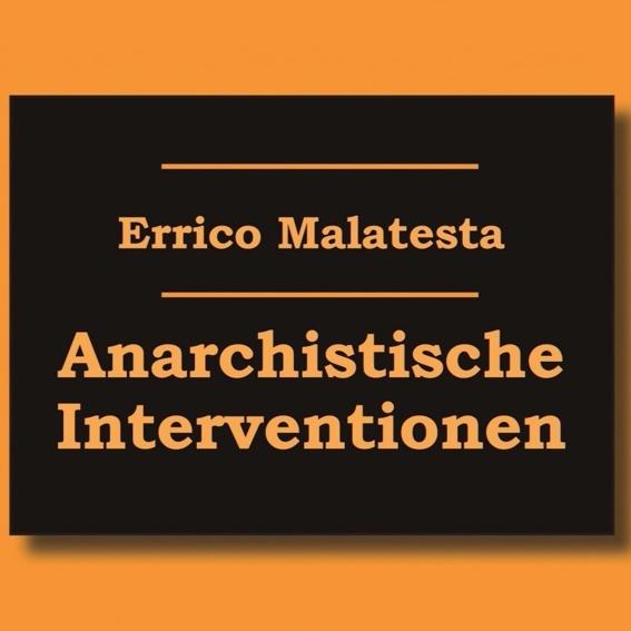 Buch: Anarchistische Interventionen