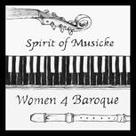 """10 Sticker Spirit of Musicke """"Women 4 Baroque"""""""