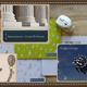 Archäologie-Mousepad, farbig