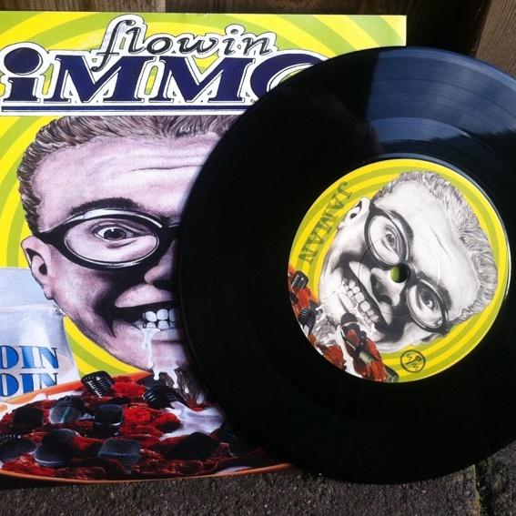 "7"" Vinyl Moin Moin / Jaman anno 1999 inkl. Versand"