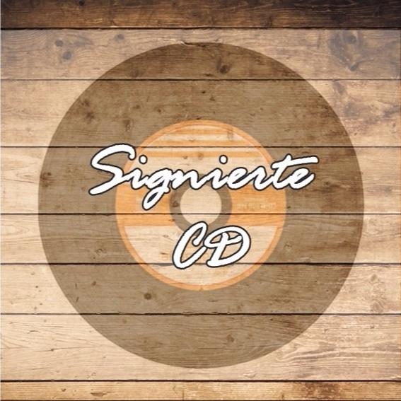 Signierte CD