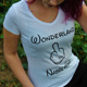 Damen Shirt Wonderland weiß