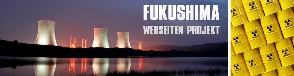 Infowebseite über Fukushima