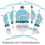 Probierset BAOWOW Hydration mit 5 Portionsbeuteln:
