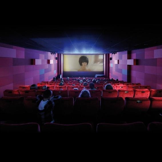 Privatvorstellung im Kino des Deutschen Filmmuseums