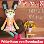 Frida-Hase - revoluzZzionäre Kuschelpuppe