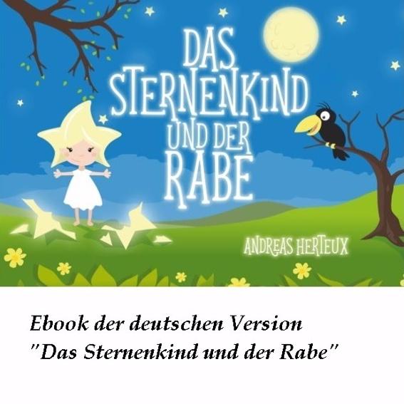 """Ebook """"Das Sternenkind und Rabe"""" (deutsche Version)"""