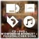 CD + DVD + Widmung im Booklet + persönlicher Song