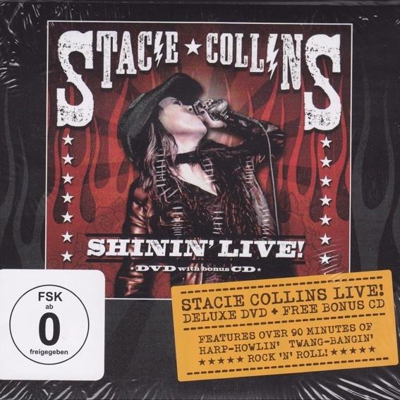 Stacie Collins - SHIIN' LIVE - CD&DVD