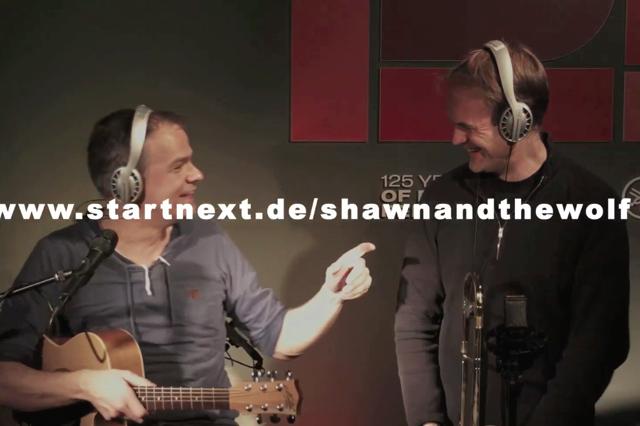 Shawn & the Wolf - Debut CD Aufnahme