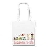 """Jutebeutel: Lesende Kinder """"Kinderbücher für alle!"""""""