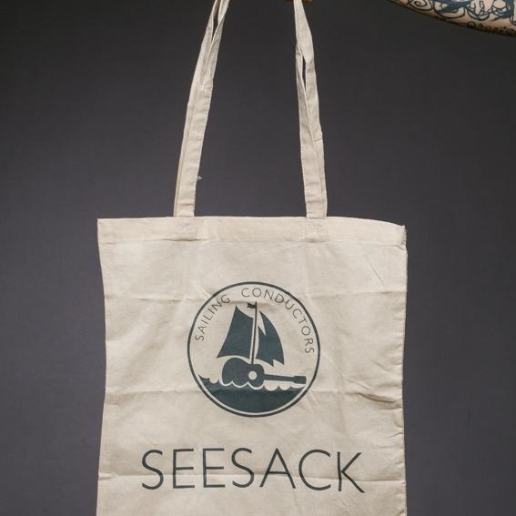 """Baumwolltragetasche """"Seesack"""""""