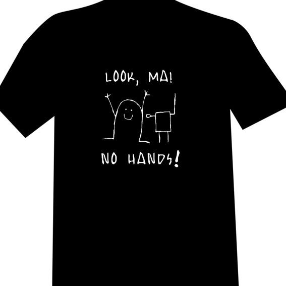 "T-Shirt Design D (""No Hands"")"