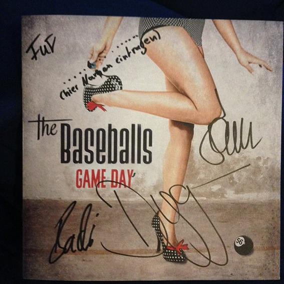 THE BASEBALLS - GAME DAY Promo signiert