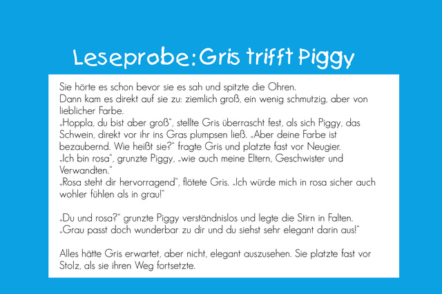 """""""Gris will anders sein"""