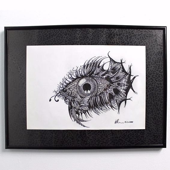 Fightingeye Photo-Print Handsigniert