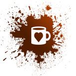 1 Kaffeebecher 'from bastard w/love'