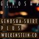 """Limitiertes GENOSHA T-Shirt + """"Wolkenstein""""-CD"""