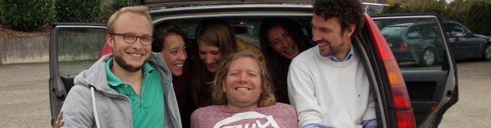 """Die Rallye für den guten Zweck - Team 45 """"Sechs im Auto"""""""