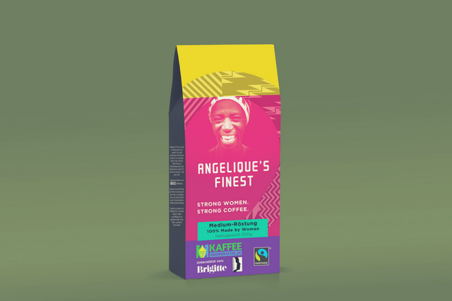 Angelique's Finest: Kaffee 100% Made by Women